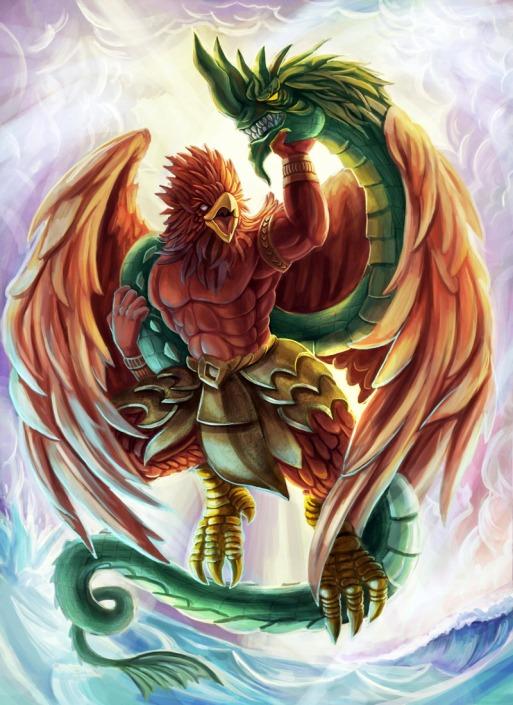 garuda_battle_naga_serpent_by_flukekung