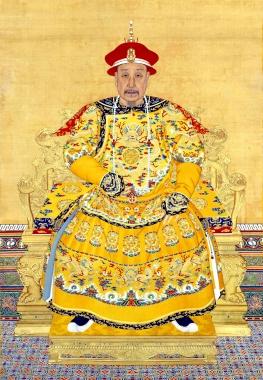 乾隆皇帝老年肖像