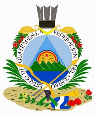 Escudo del estado de Guatemala