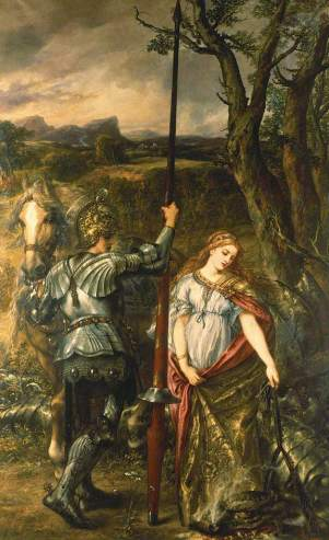 Gilbert, John, 1817-1897; Fair Saint George